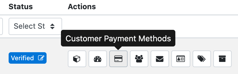 List Payment Methods